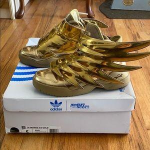 Jeremy Scott 3.0 Gold Wings sneakers adidas